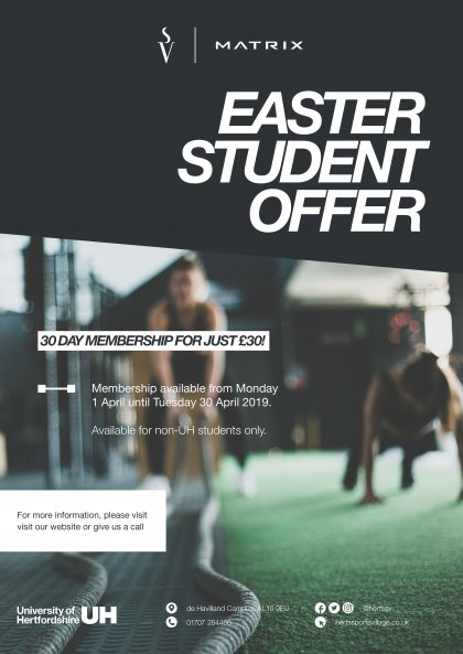 Non UH Student Easter Membership