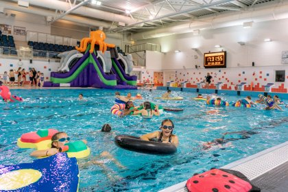 Pool Slide Parties at Hertfordshire Sports Village