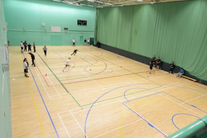 Sports Hall Closure