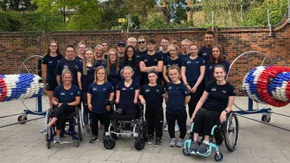 British Paralympic Swim Team