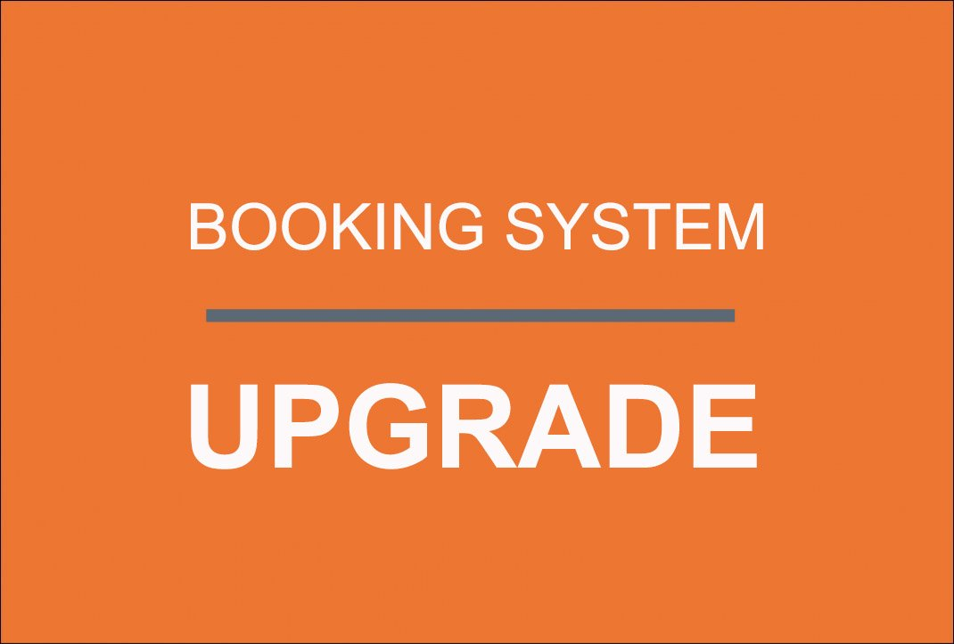 Booking System Upgrade