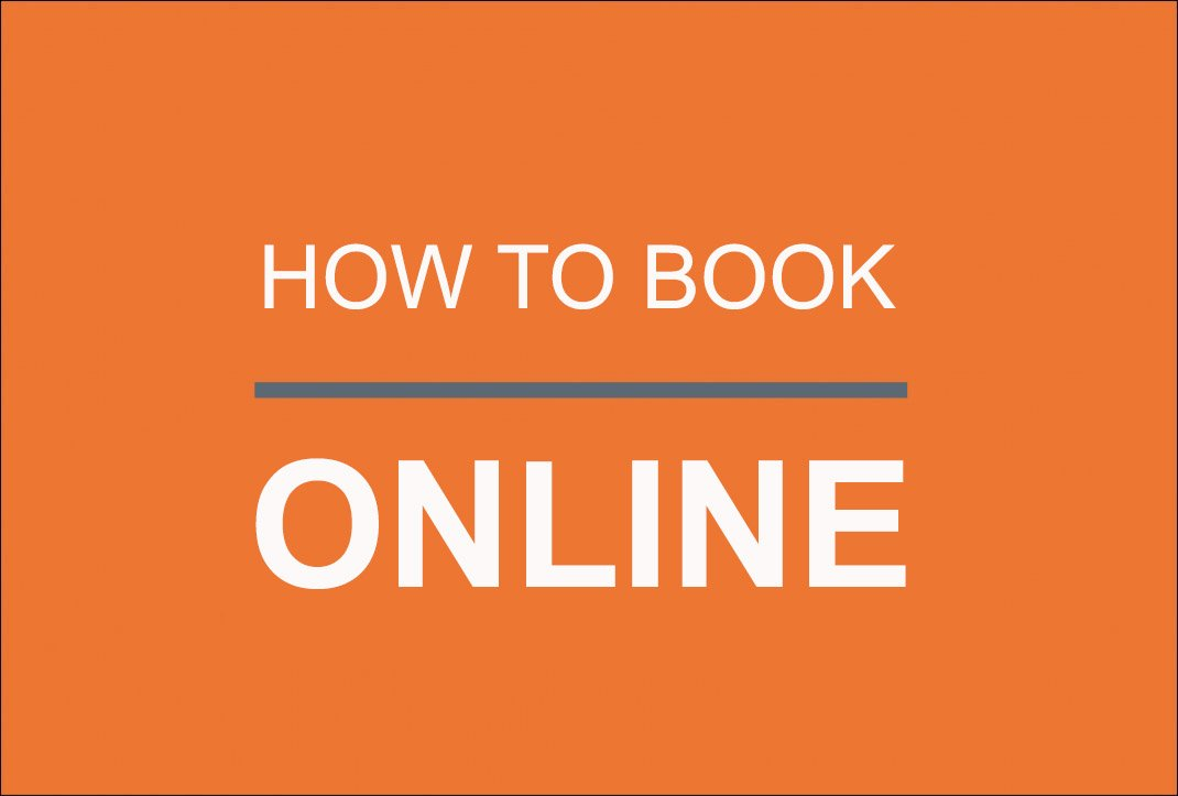 How to Book Online